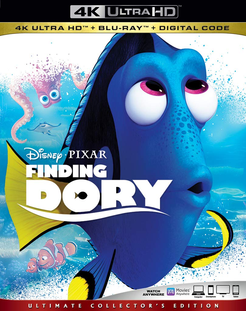 Finding Dory 4k Blu-ray