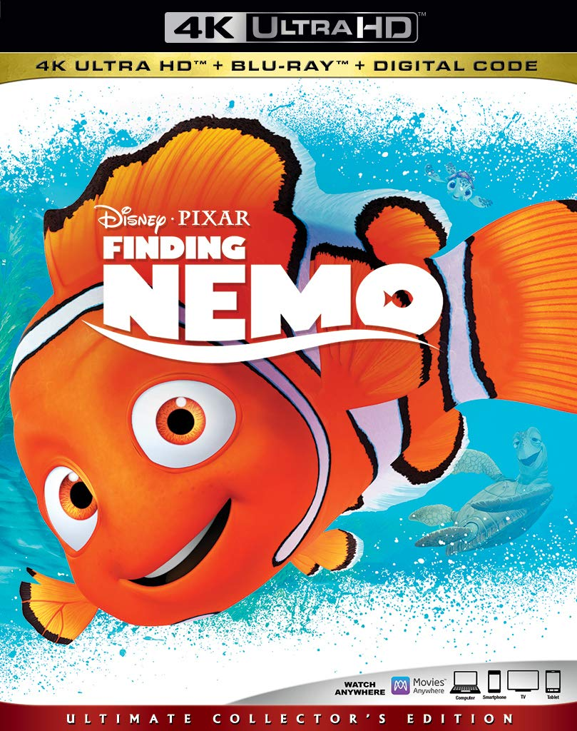 Finding Nemo 4k Blu-ray