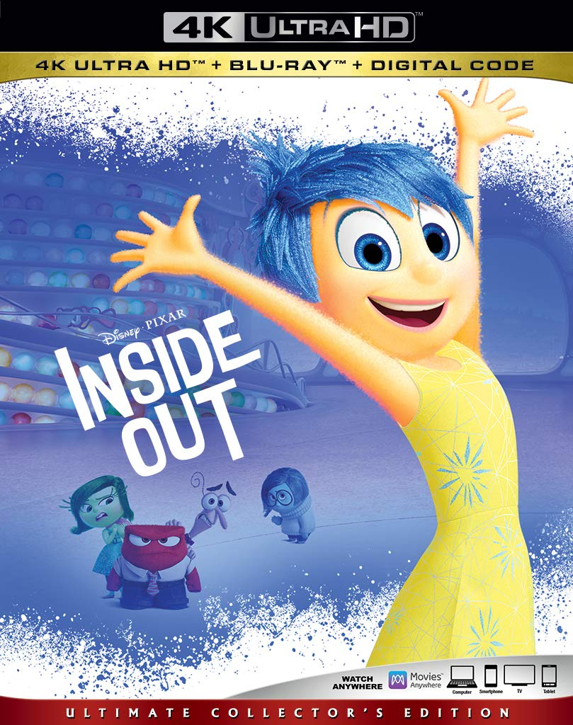 Inside Out 4k Blu-ray