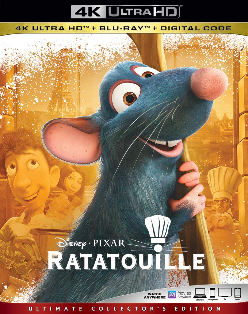 Ratatouille 3k Blu-ray