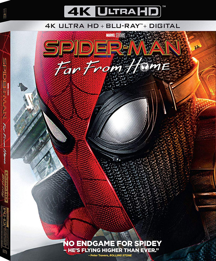 Spider-Man Far rom Home 4k Blu-ray