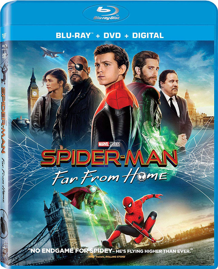 Spider-Man Far rom Home Blu-ray