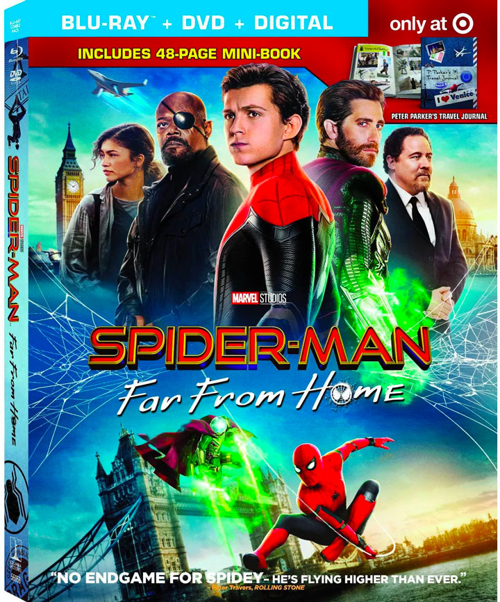 """Spider-Man Far From Home "" Blu-ray Target Exclusive"
