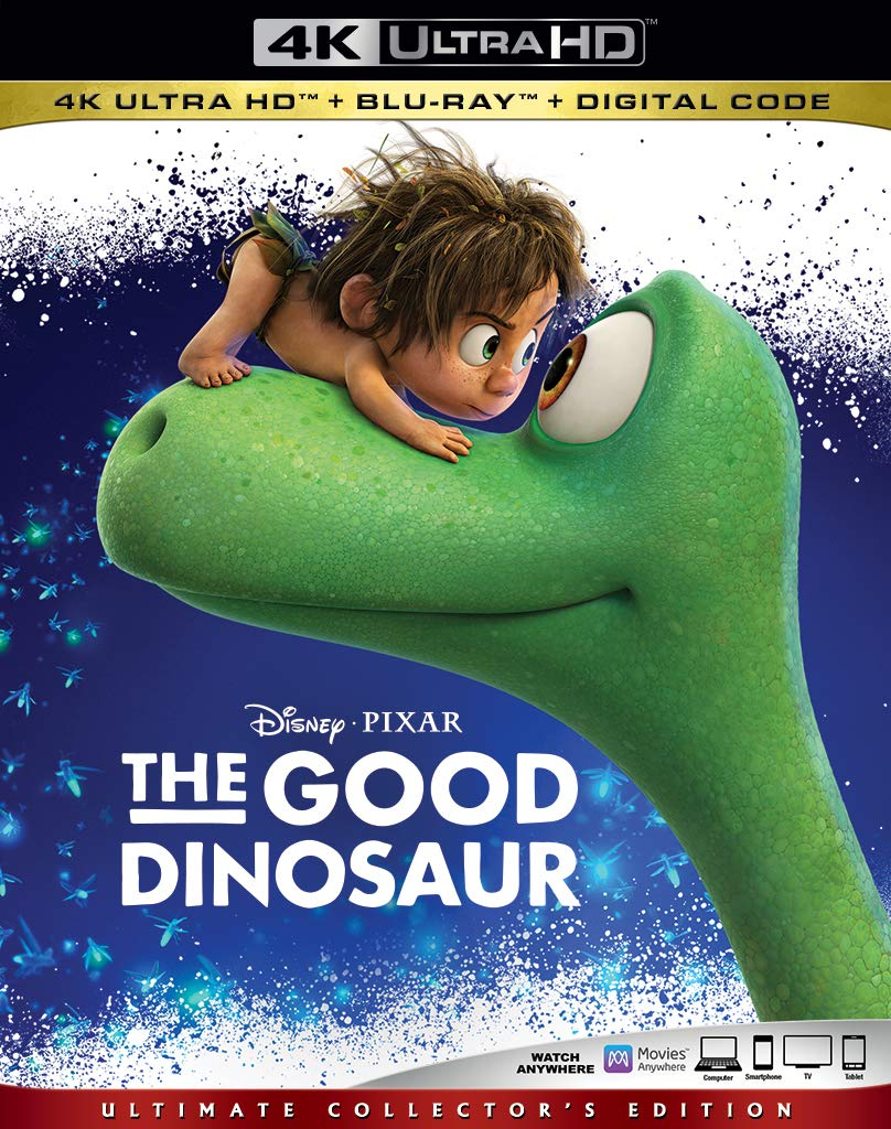The Good Dinosaur 4k Blu-ray