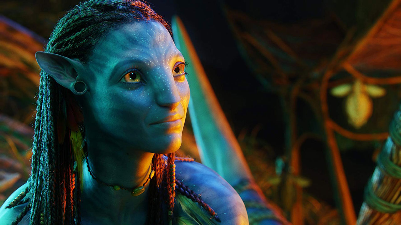 Zoe Saldana in Avatar (2009) © 20th Century Fox / WETA