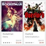 Google Play discounts select 4k movies up to 60%