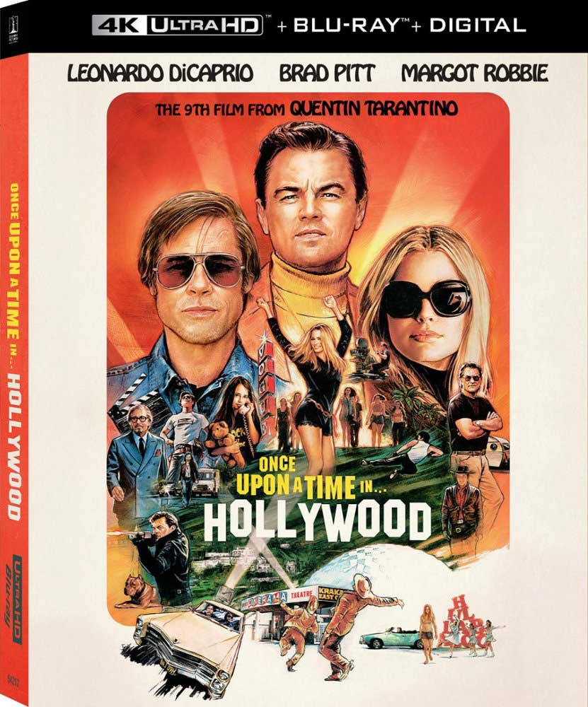 """Once Upon a Time In...Hollywood"" (2019) Ultra HD Blu-ray"