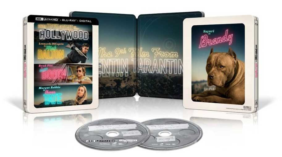 Once-Upon-a-Time-In-Hollywood-SteelBook-4k-Blu-ray