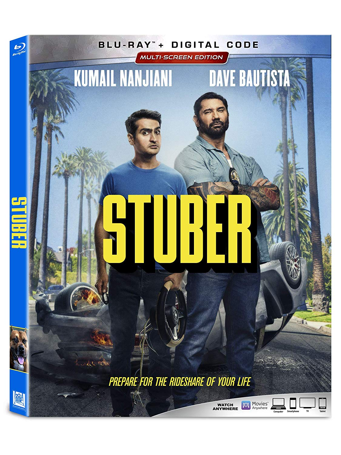 Stuber blu-ray disc