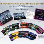 The Infinity Saga Collector's Edition includes 23 MCU films on 4k Blu-ray