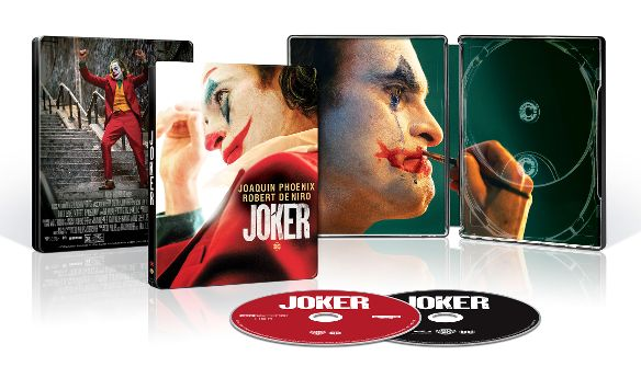 joker 4k blu-ray steelbook open