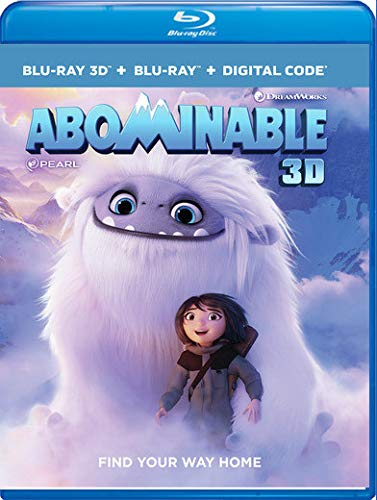 Abominable 3D Blu-ray