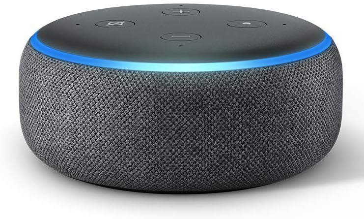 Echo Dot Heather Charcoal