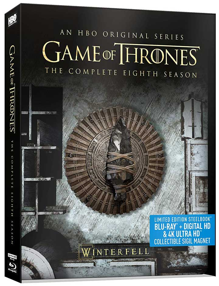 Game of Thrones Season 8 4k Blu-ray
