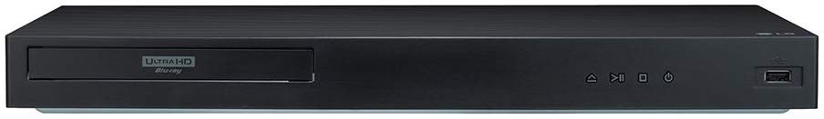LG UBK90 4K Ultra-HD Blu-ray Player w/HDR10/Dolby Vision (2018)