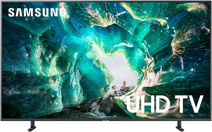 Samsung UN65RU8000FXZA Flat-65-Inch 4K 8-Series Ultra HD Smart TV HDR