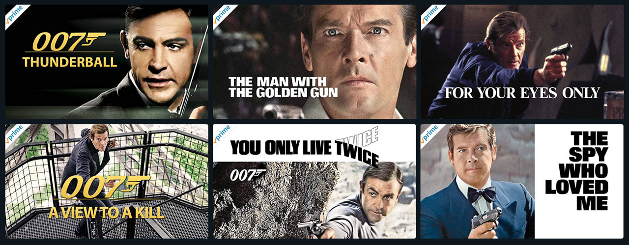 James Bond Amazon Prime