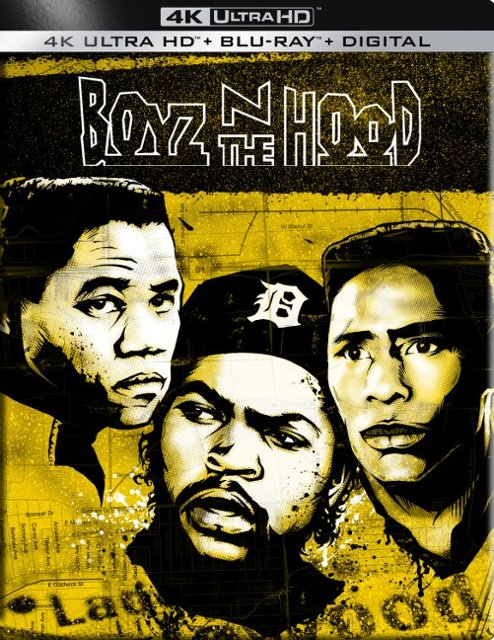 Boyz N the Hood 4k Blu-ray SteelBook
