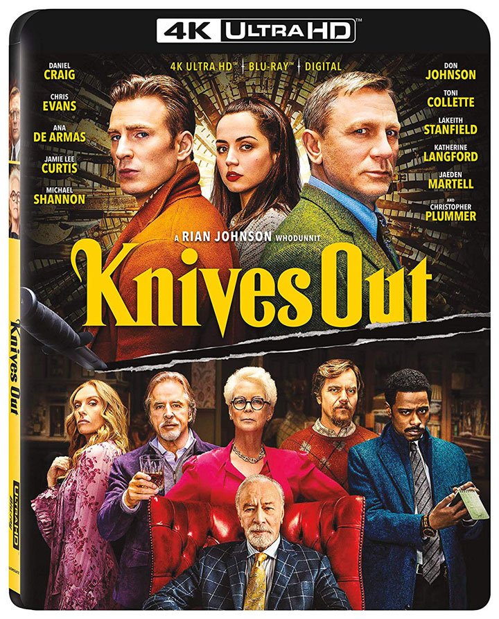 Knives Out 4k Blu-ray