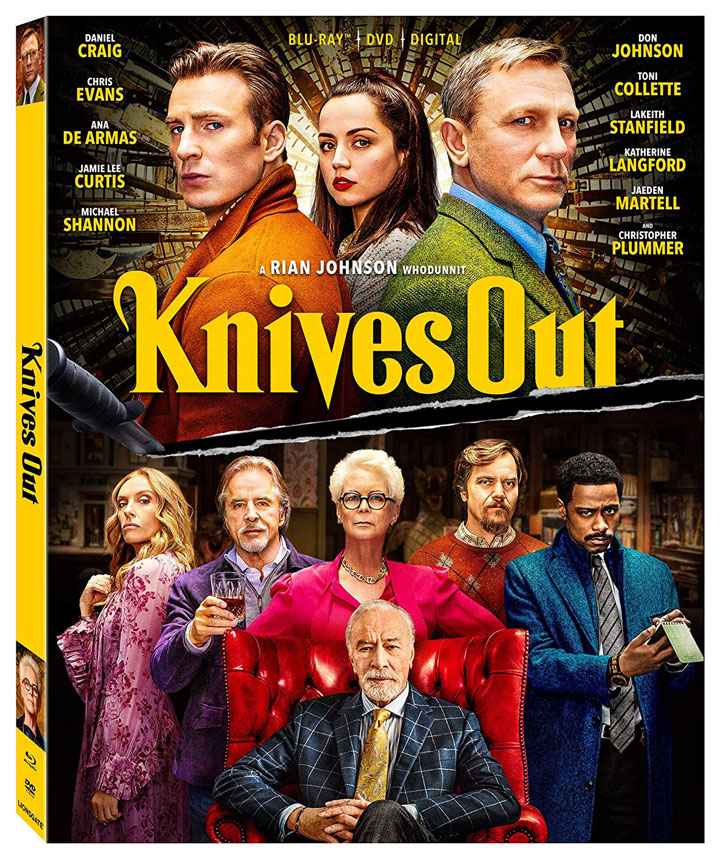 Knives Out Blu-ray