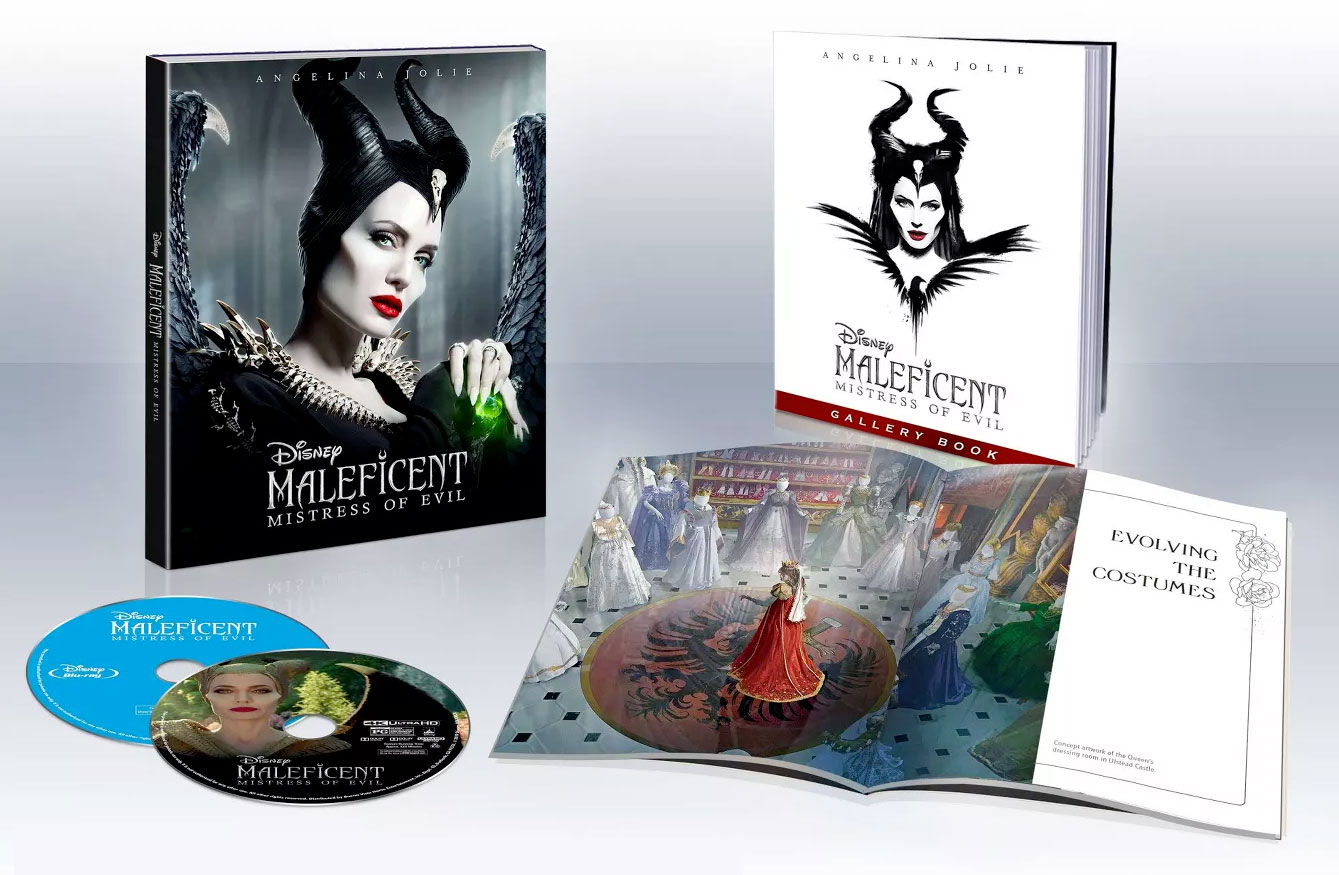 Maleficent--Mistress-of-Evil-4k-Blu-ray-Target-open