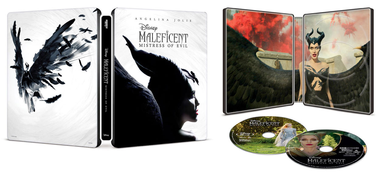Maleficent--Mistress-of-Evil-SteelBook-Blu-ray-open