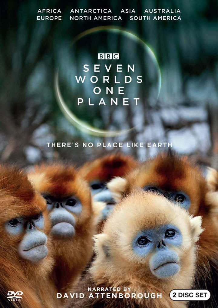 Seven Worlds One Planet DVD