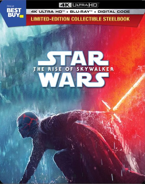 Star Wars-The Rise of Skywalker 4k Blu-ray SteelBook
