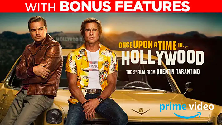 Once Upon A Time In...Hollywood Digital UHD