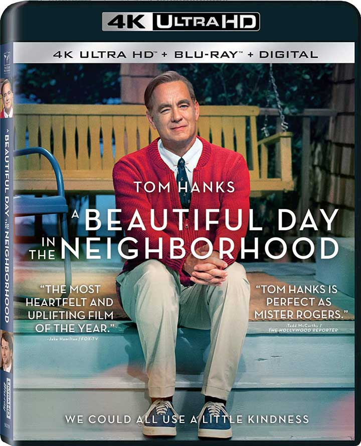 A Beautiful Day in the Neighborhood 4k Blu-ray