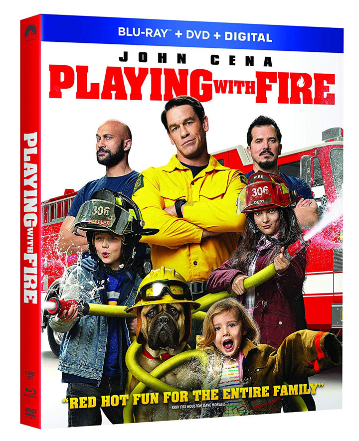 Playing With Fire Blu-ray