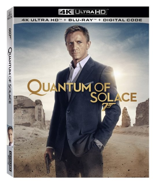 Quantum of Solace 4k Blu-ray