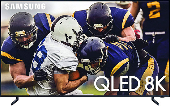 Samsung QN65Q900RBFXZA Flat 65-Inch QLED 8K Q900 Series Ultra HD Smart TV with HDR Alexa