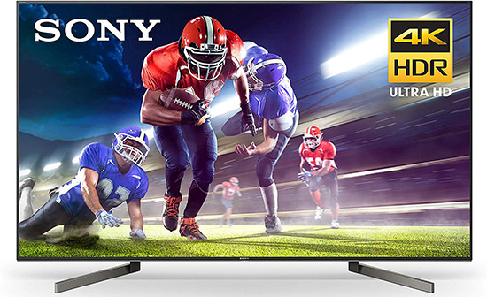 Sony XBR75X900F 75-Inch 4K Ultra HD Smart LED TV with Alexa