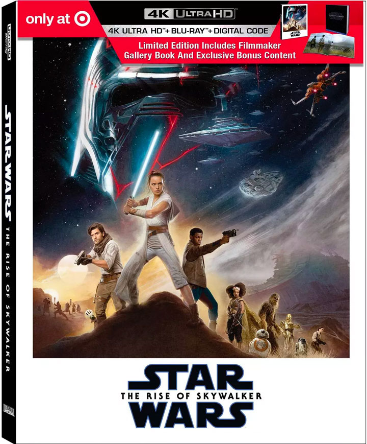 Star Wars: The Rise of Skywalker Target Blu-ray exclusive