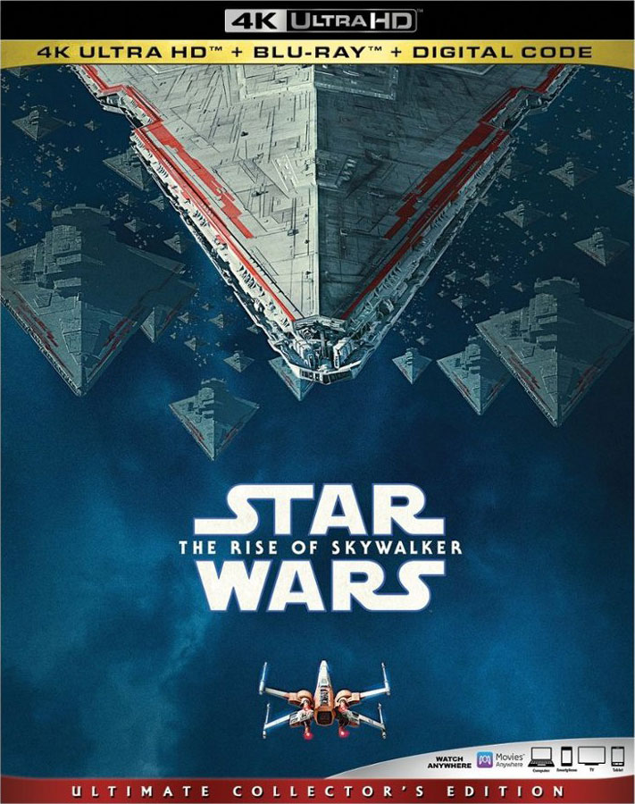 Star Wars The Rise of Skywalker 4k Blu-ray