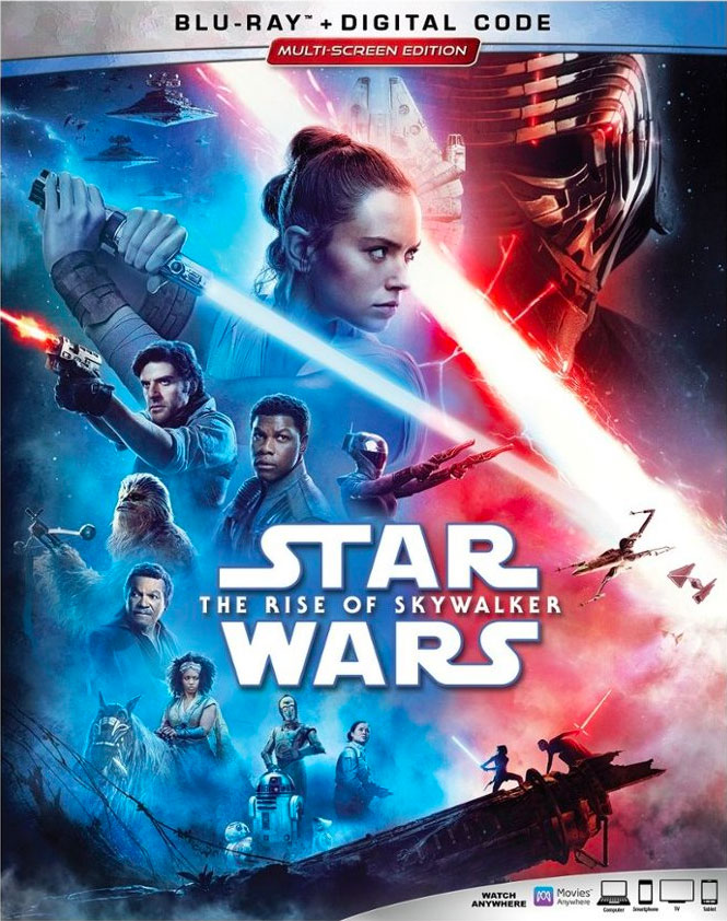 Star Wars The Rise of Skywalker Blu-ray