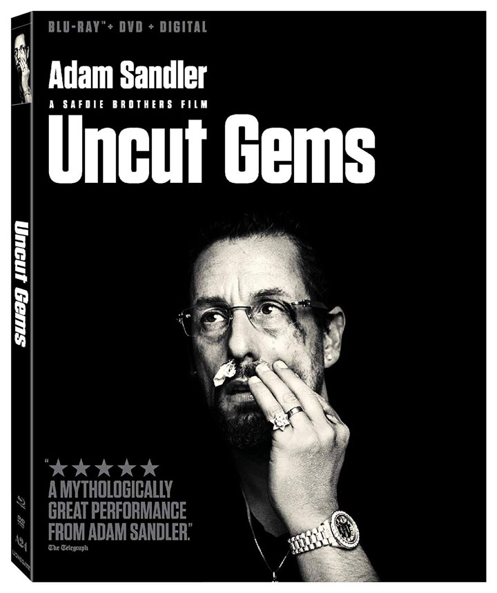Uncut Gems Blu-ray Disc