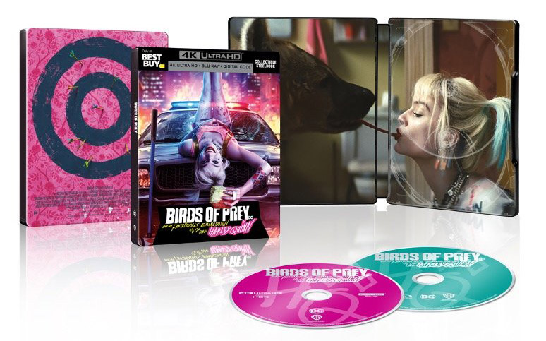 Birds of Prey 4k Blu-ray SteelBook