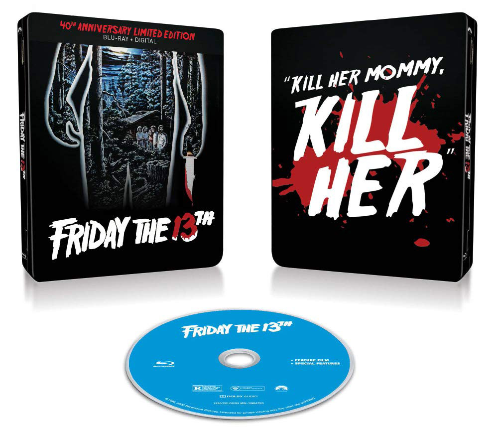 Friday the 13th 30th Anniversary Blu-ray open