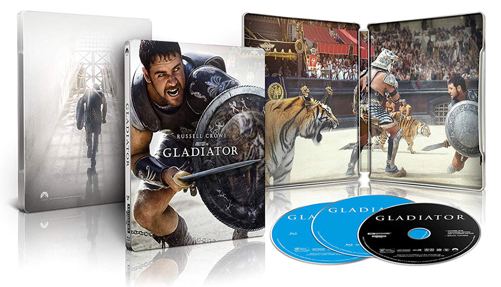 Gladiator 4k Blu-ray SteelBook