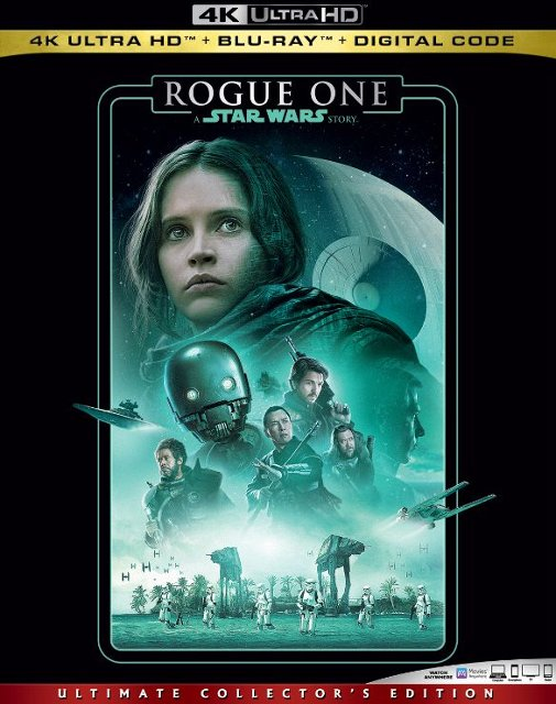 Rogue One: A Star Wars Story 4k Blu-ray
