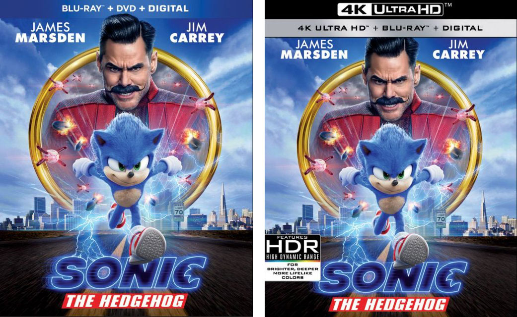 Sonic the Hedgehog Blu-ray 4k Blu-ray