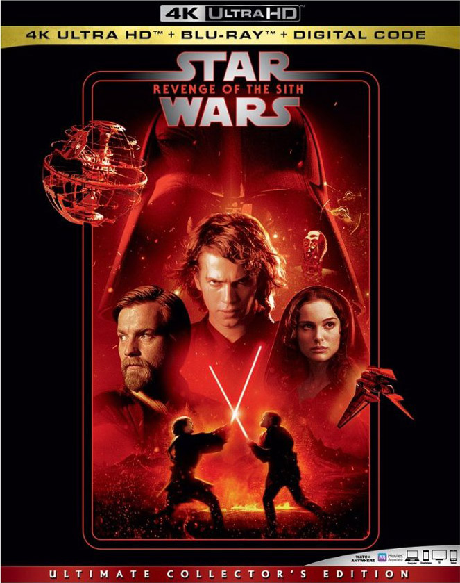 Star Wars- Revenge of the Sith 4k Blu-ray