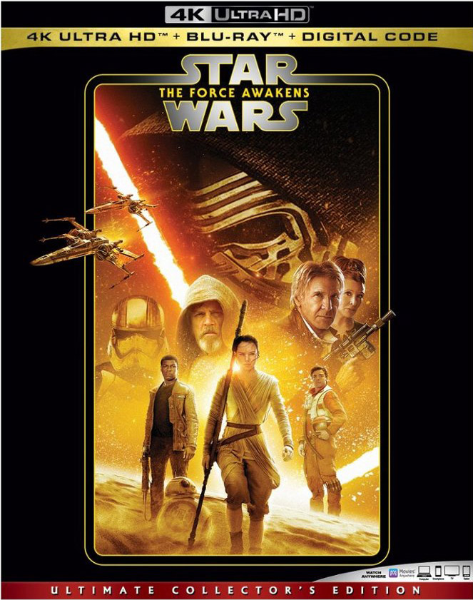 Star Wars The Force Awakens 4k Blu-ray