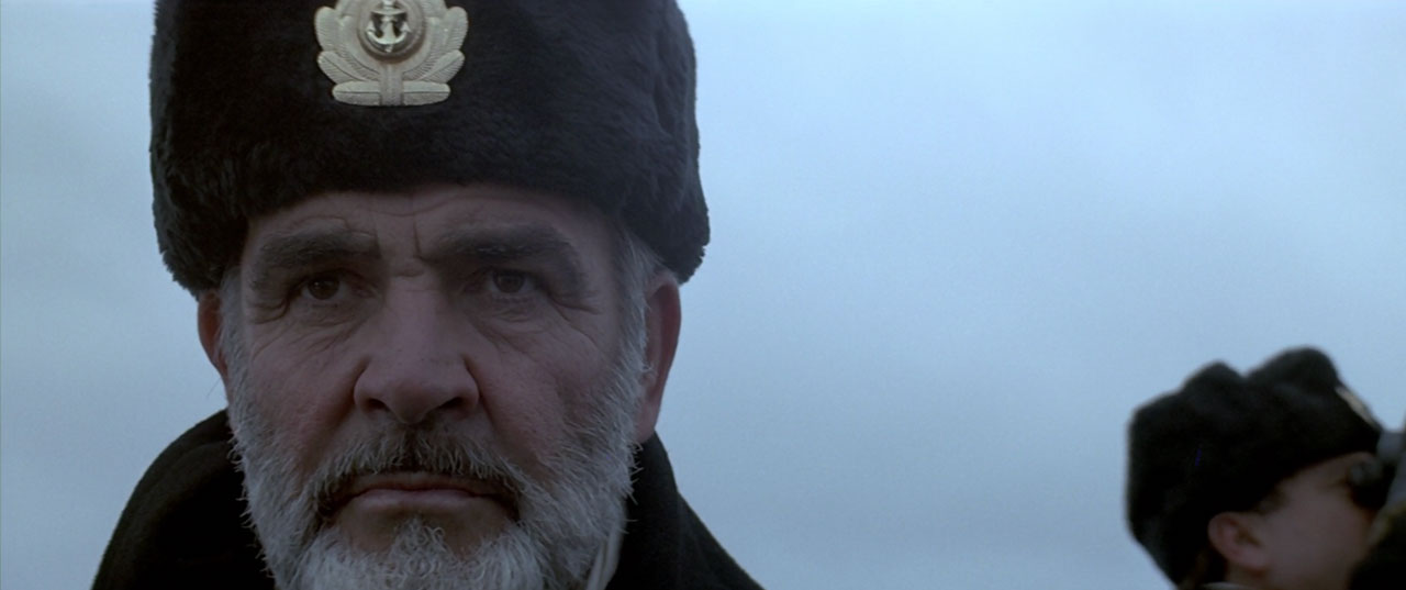 The Hunt for Red October movie still 4k Blu-ray remaster