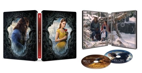 Beauty and the Beast 4k Blu-ray open med