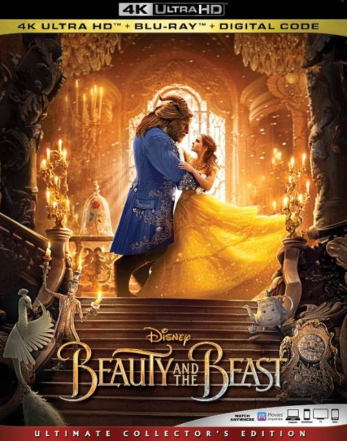 Beauty and the Beast 4k Blu-ray