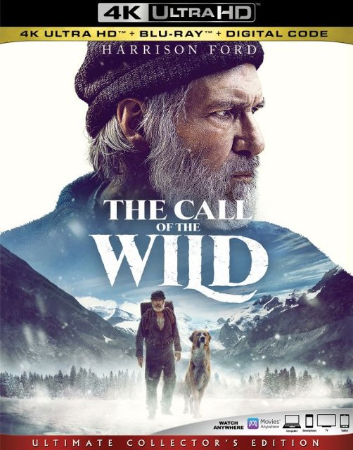 The Call of the Wild 4k Blu-ray