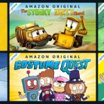Amazon Streaming Over 40 Kids Shows Free